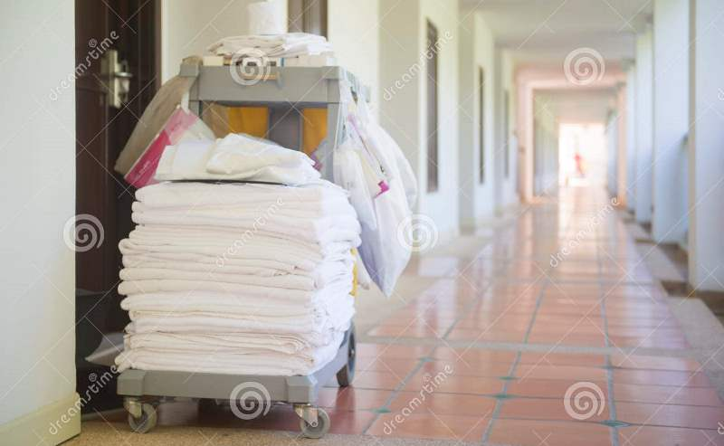 http://www.dreamstime.com/royalty-free-stock-photo-cleaning-tool-cart-housekeeper-hotel-accessories-image63760755