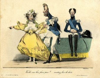 French 1830_duchesse d'Angouleme, Charles X and the duc d'Angouleme.